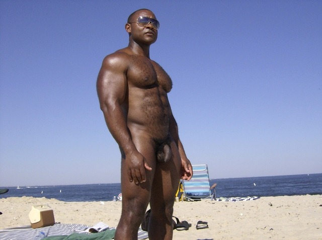 Statuesque at the beach