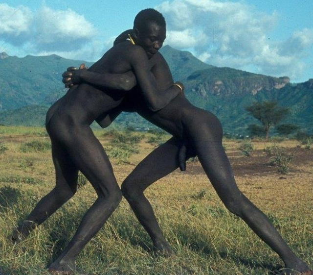 African nudity