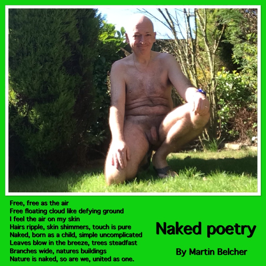 Clothes Free Poetry Contest Submission: Martin Belcher